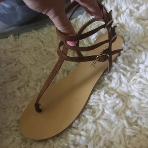 Shoes - Wet seal strapped sandals